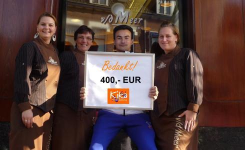 Bakkerij T vd Meer Amersfoort - KiKa actie met Ramon de la Fuente