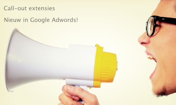 Call-out extensies Adwords