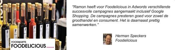 Foodelicious referentie over Ramon de la Fuente