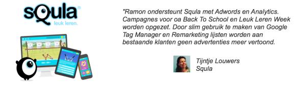 Tijntje Louwers van Squla over inzet RamondelaFuente.com