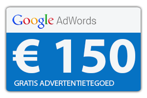 Google Adwords Coupon Gratis Advertentietegoed 150,- Euro Voucher