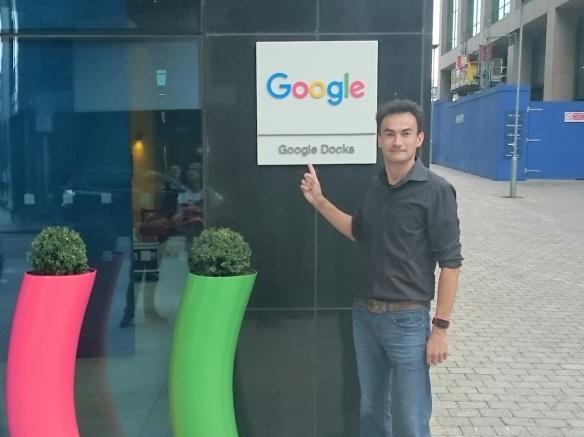 Online Marketing Amersfoort RamondelaFuente.com op het hoofdkantoor van Google in Dublin