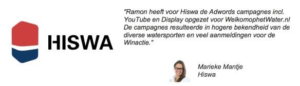 Referentie van Marieke Mantje van de Hiswa voor de WelkomophetWater.nl campagne