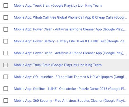 Apps uitsluiten in Google Ads