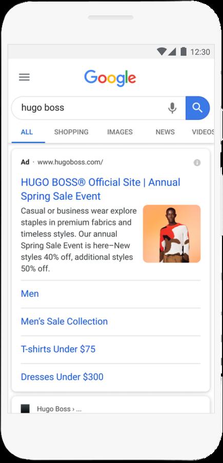 Beeldextensie voor zoekadvertenties voor Google Ads